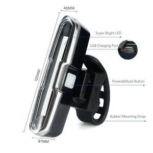 Brand New,Ultra Bright Bike Light USB Rechargeable