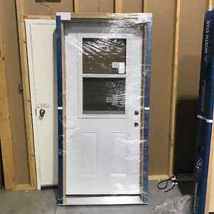 Two entry doors for sale, new never installed