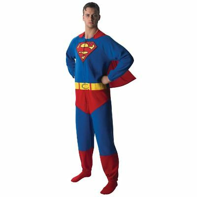 Rub - Superman Onesie mit Cape für Herren zu Karneval Fasching