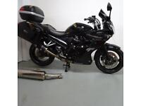 SUZUKI GSF1250-SALO. FULL LUGGAGE. STAFFORD MOTORCYCLES LIMITED