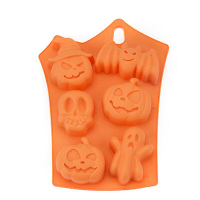 3D Kürbis Halloween Silikon Fondant Kuchen Form Backform Mousse Gebäck - Halloween Kuchen Backen