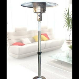 Outdoor Umbrella Gas Heater (Natural Gas, Stainless Steel 024204