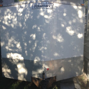 2015 haul mark 20 ft x 8.5 ft enclosed with 6.6 ft height inside