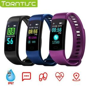 Torntisc Y5 Smart Band IP67 waterproof Heart Rate Fitness bracelet Blood Pressure oxygen Monitor