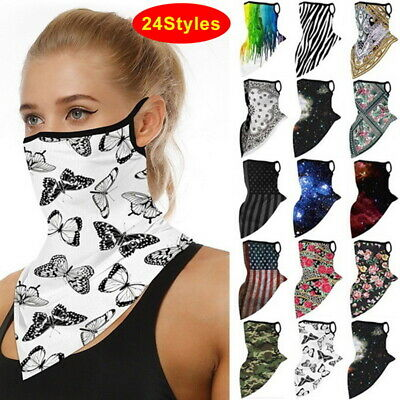 Balaclava Cycling Neck Tube Scarf Snood Bike Face Mask Warmer Bandana Multi-Use