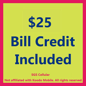Koodo 5GB Data Plan for $48/month! No Contract! Keep Your Number Peterborough Peterborough Area image 2