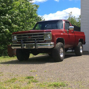 Chev Short box 4x4