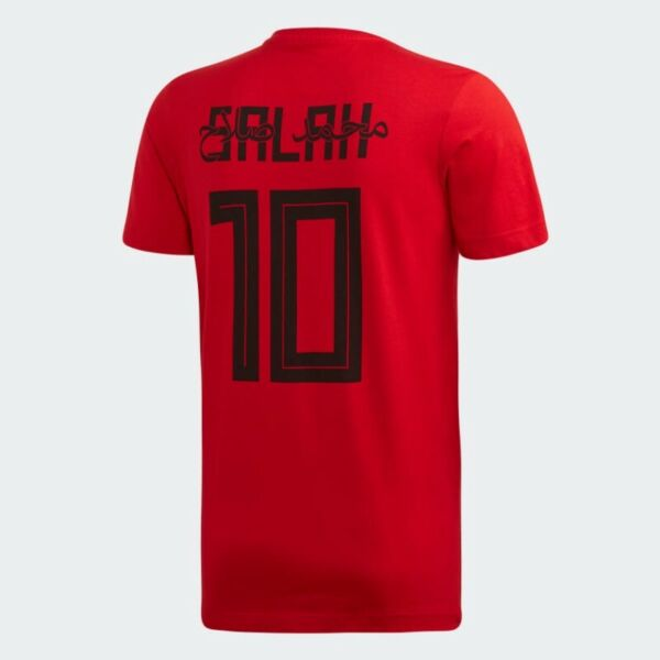 Adidas Men's Salah 10 Graphic T-Shirt (Scarlet Red) (Size M) (Brand New With Tags)