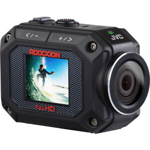 Gently Used JVC Action Video Camera with Underwater Housing
