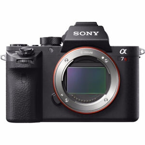 Used Sony A7r 2 for sale with 6 batteries Total. Great Condition