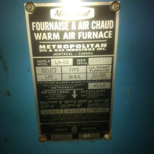 Hot Air Oil Furnace For Sale