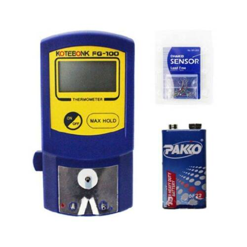 FG-100 Tip Soldering Iron Temperature Tester Thermometer Use