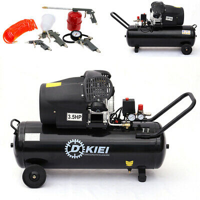 100ltr Direct Drive Compressors 3.5HP Air Compressor 14.6CFM Engine With Toolkit
