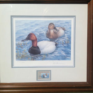 six duck stamp prints