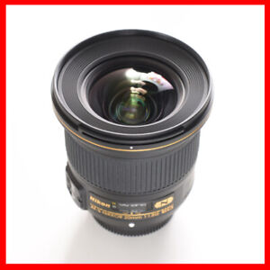 Nikon 20mm F1.8G ED lens, 100% condition