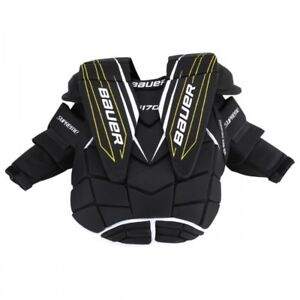 Bauer Supreme S170 Junior Goalie Chest & Arm Protector Large New