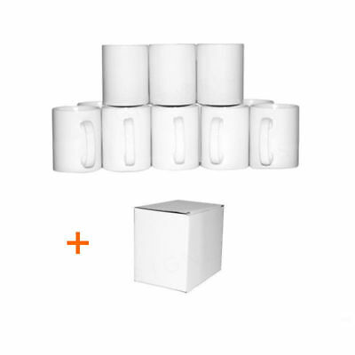 Sublimation Becher Klein Griff 313ml mit Extra Becher Smash Kiste Option (Extra Kleine Kiste)