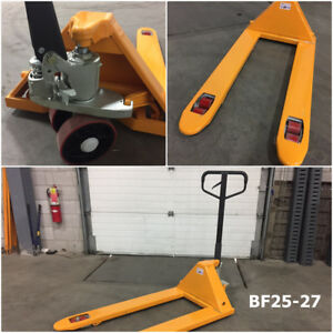 BRAND NEW Pump Trucks / Pallet Jacks for Sale – BEST PRICE GUARA