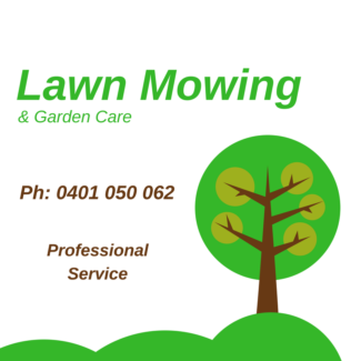 Small Garden Tidy ups & Mowing