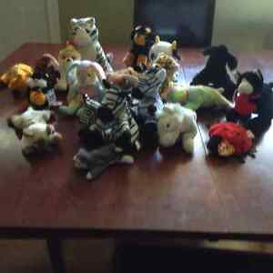 TY BABIES AND OTHER ASSORTED SMALL STUFFIES