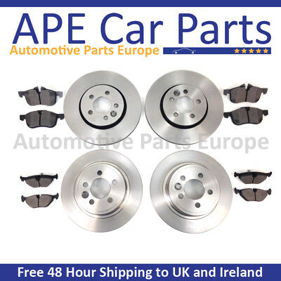 Hyundai Coupe 1.6 2.0 2.7 V6 2002-2009 Front & Rear Brake Discs & Pads