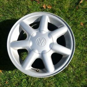 "VW 14"" Alloy Wheels."