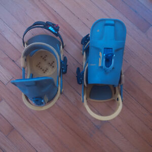 Burton Custom SnowBoard Bindings - Size L - Good Shape