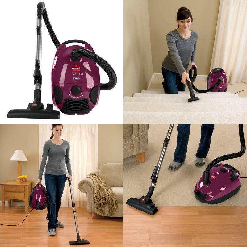 Lightweight Vacuum Cleaner Bagged Canister Vacume Vaccum Bis