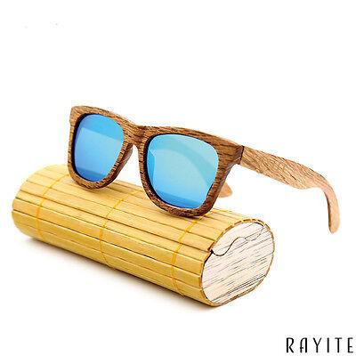 Unisex Wood Sunglasses Wooden Sunglasses Men Women Eye Wear Zebra Wood (Wooden Sunglasses India)