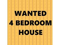 Wanted - 4 Bedroom Family Home to Rent - Ready to move