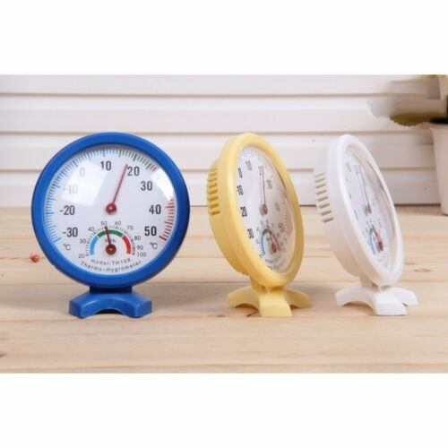 New Analog Humidity Hygrometer Thermometer Temperature Weather Meter -35~55°C #X