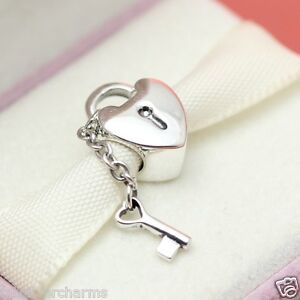 Authentic Pandora Bracelet Bead Key to My Heart 790971 Wife Love Valentines Day