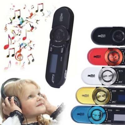 Mini USB LCD Screen 16GB Support Flash TF Player MP3 Music FM Radio High Speed
