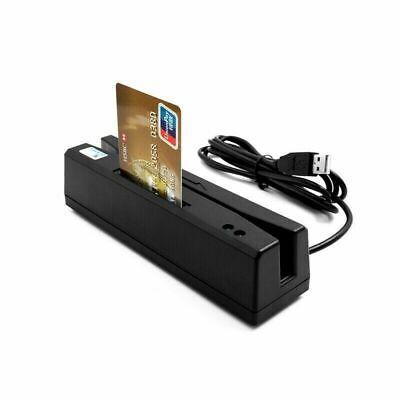 Zcs160 4 In 1 Magnetic Stripe Credit Card Emv Ic Chip Rfid Psam Reader