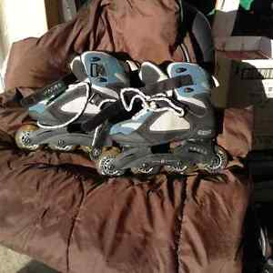 Ladies  size 7 Inline skates