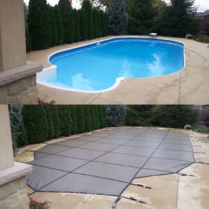 """Swimming Pool Safety Covers **Free """"Closing Included**"""