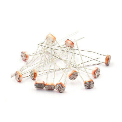 10pcs Gl5506 5506 5mm Ldr Photoresistor Light-dependent Resistor New