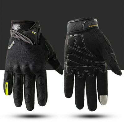 Summer Motorcycle Gloves (Motorcycle Gloves Summer Glove Full Finger Motorbike Screen Touch Cycling)