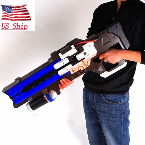"US OW 30"" Soldier:76 Gun Cosplay Props PVC Gun Halloween Video Game Weapon Toys"