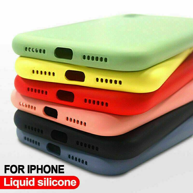 Genuine Original Silicone Case Cover for Apple iPhone 11 12