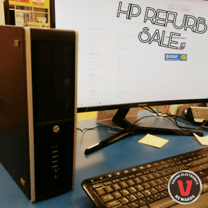 REFURB SALE - HP I5 DESKTOP - 8GB RAM