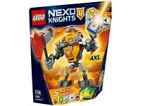Lego Nexo Knights 70365 Battle Suit Axl NEW