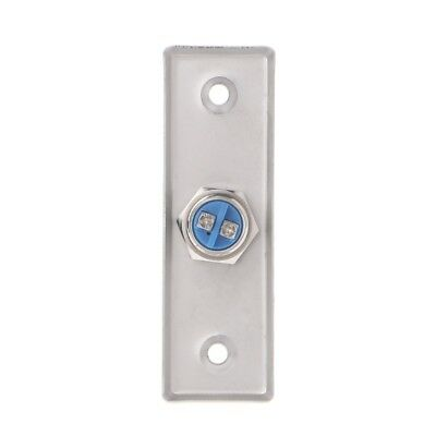 92x28mm Stainless Steel Doorbell Push Button Switch Touch Panel