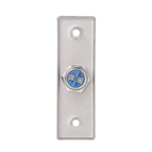 Door Chime Button Opening in Stainless Steel 92x28mm from profile