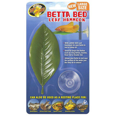 Zoo Med Betta Bed LEAF HAMMOCK LARGE ZooMED Fish Aquariam Decoration