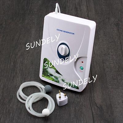 220V 600mg/h Home Ozone Generator Ozonator Air Purifier Water Food Sterilizer UK