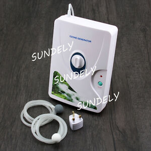 220V 600mg/h Home Ozone Generator Ozonator Air Purifier Water Food Sterilizer UK