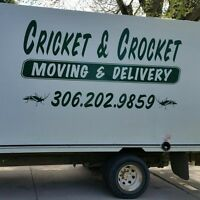 CRICKET &CROCKET WE ARE NUMBER ONE MOVING 306 202-9166
