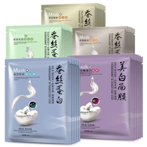 Brightening-Silk-Korean-Face-Mask-Essence-Hydrating-Moisture