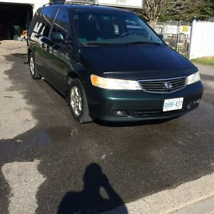 2000 Honda Odyssey ex Minivan, Van $800 or best offer